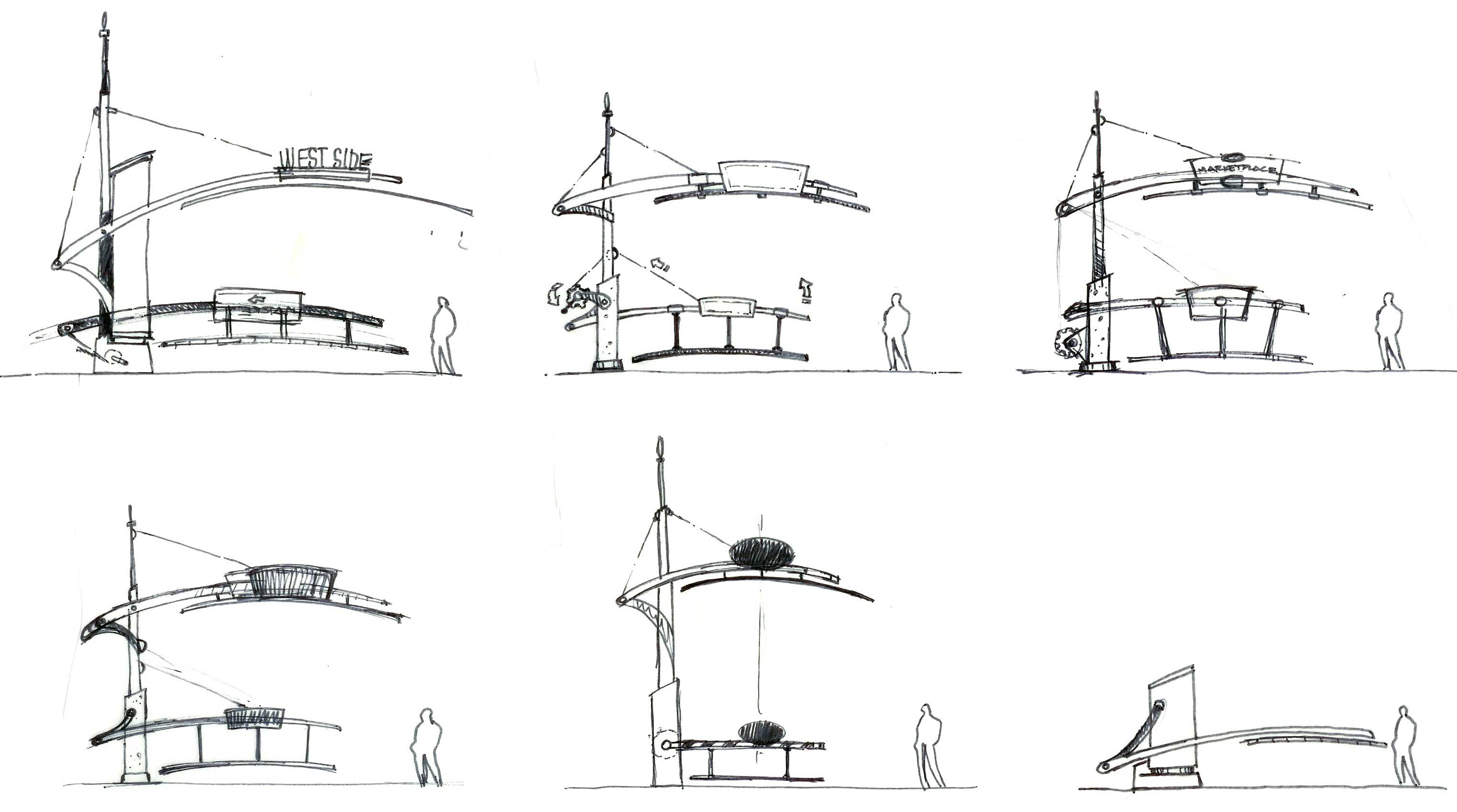 Pedestrian Gate Concepts By Brian Setser