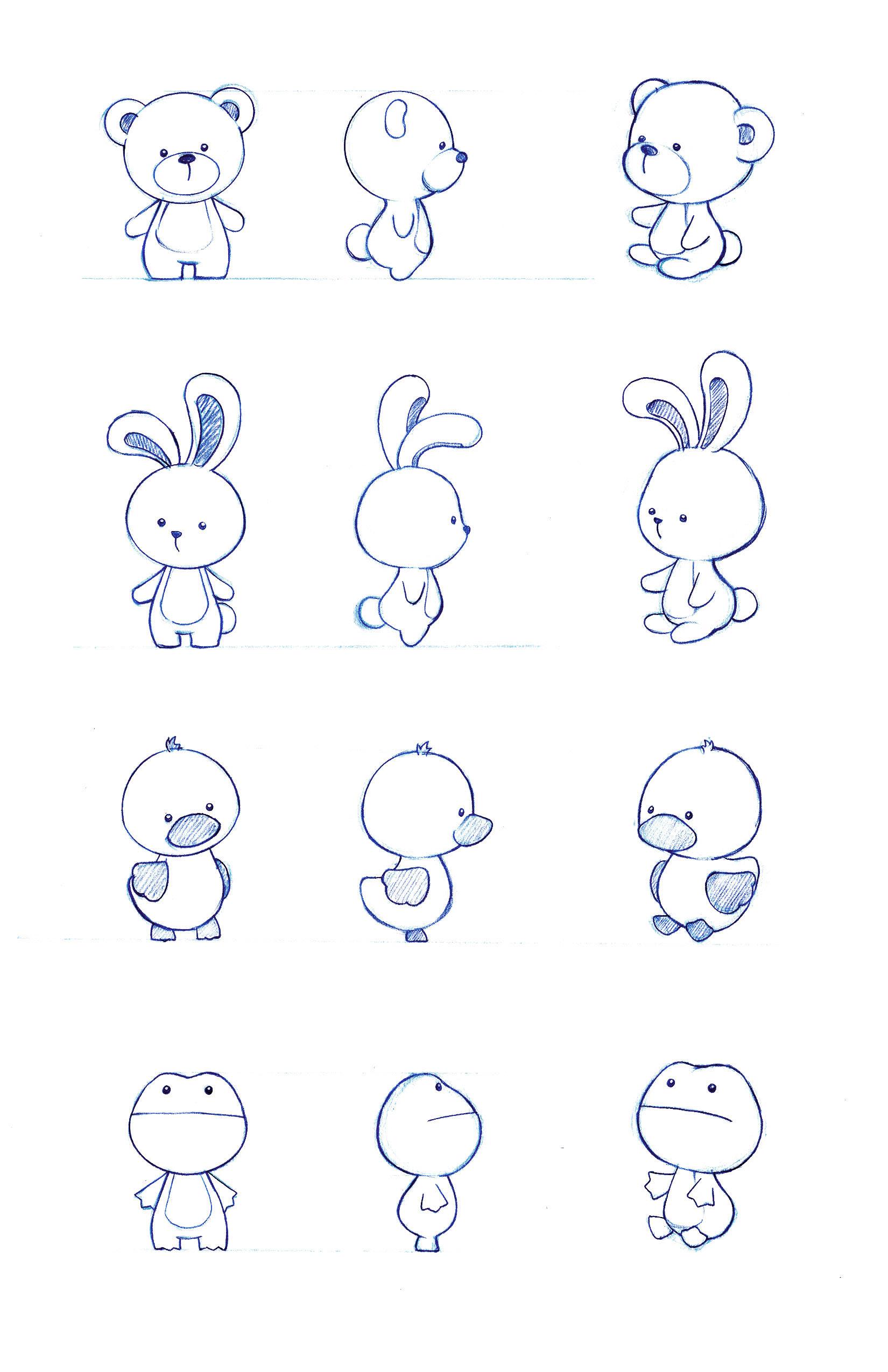 Character Design Kawaii : Character design by naoko mullally at coroflot