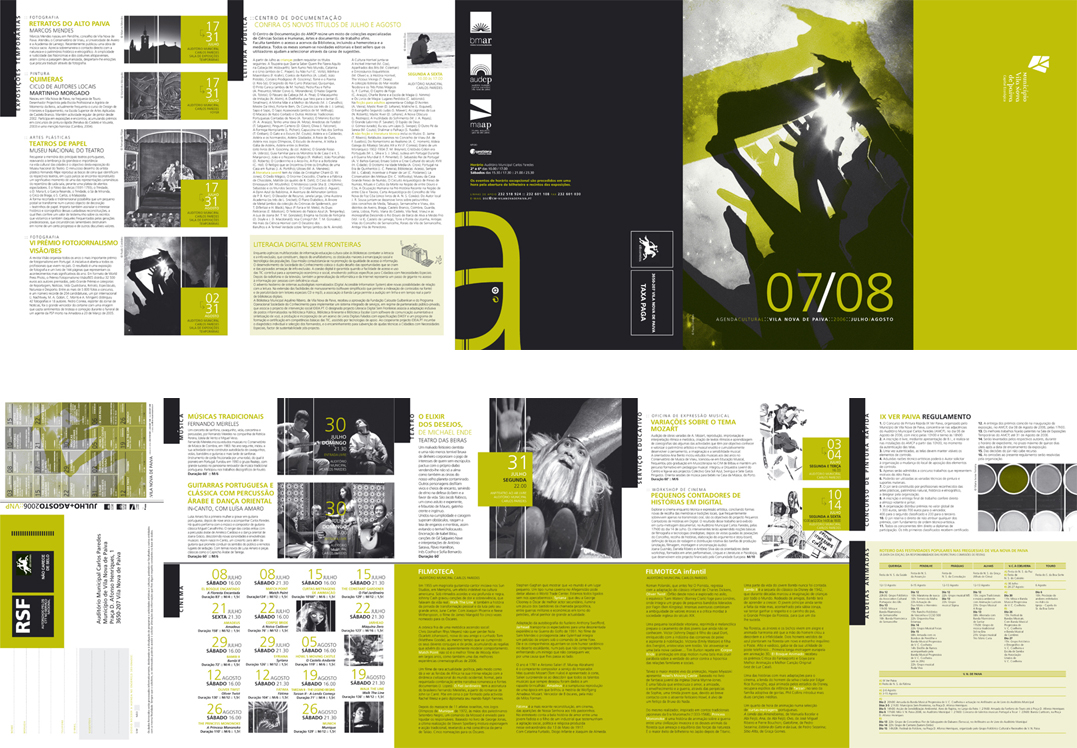 CULTURAL AGENDA by V L at Coroflot – Layout of an Agenda