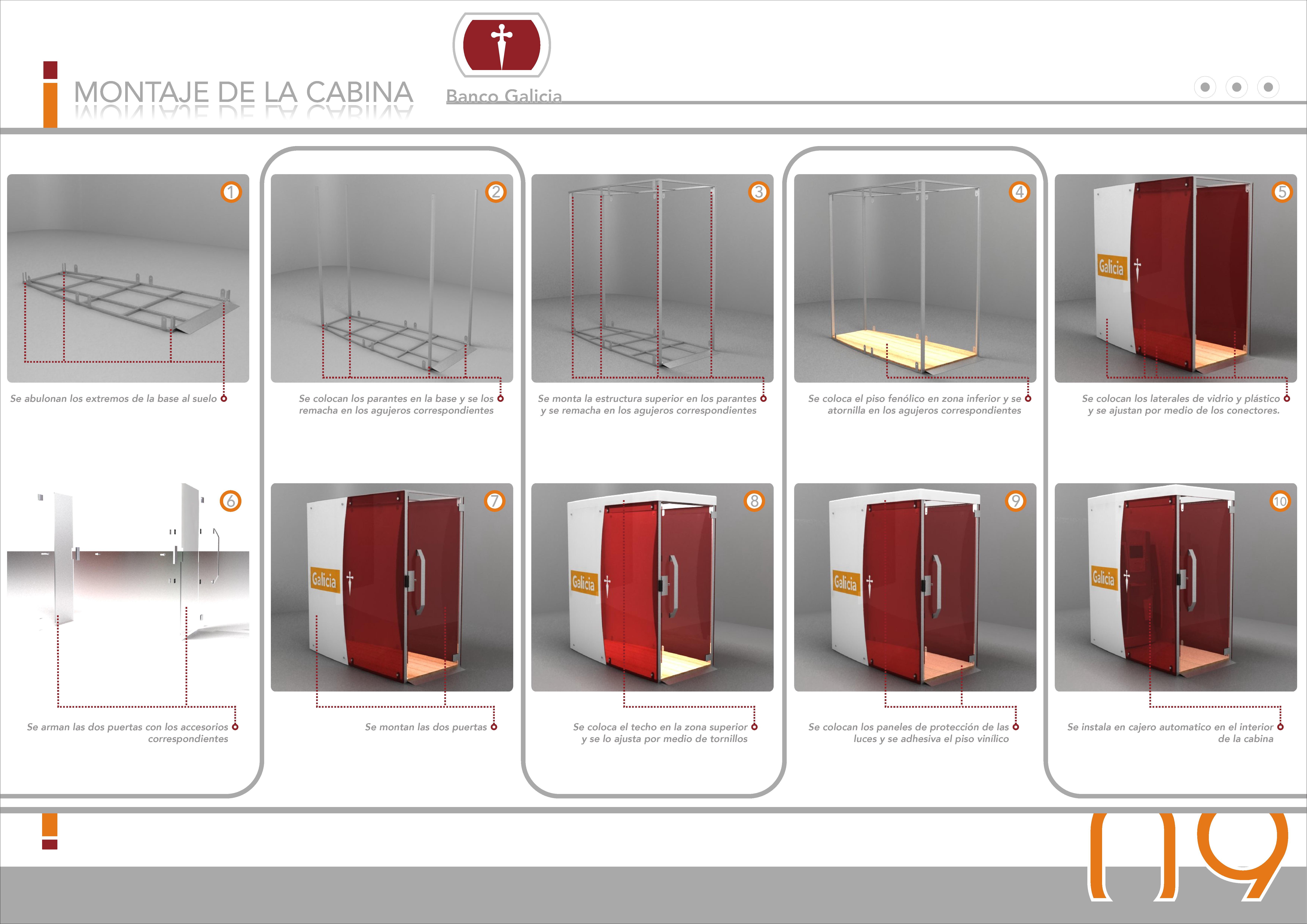 cajero automatico para banco galicia by matias rodriguez