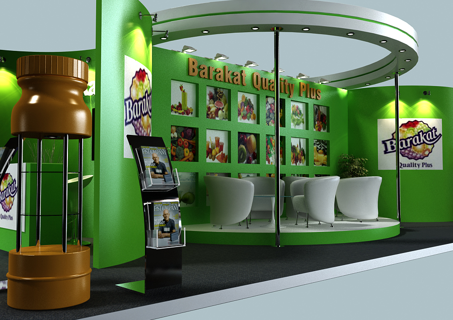 Food Exhibition Stand Design : Gulf food exhibitions by jeffrey dela cruz at coroflot