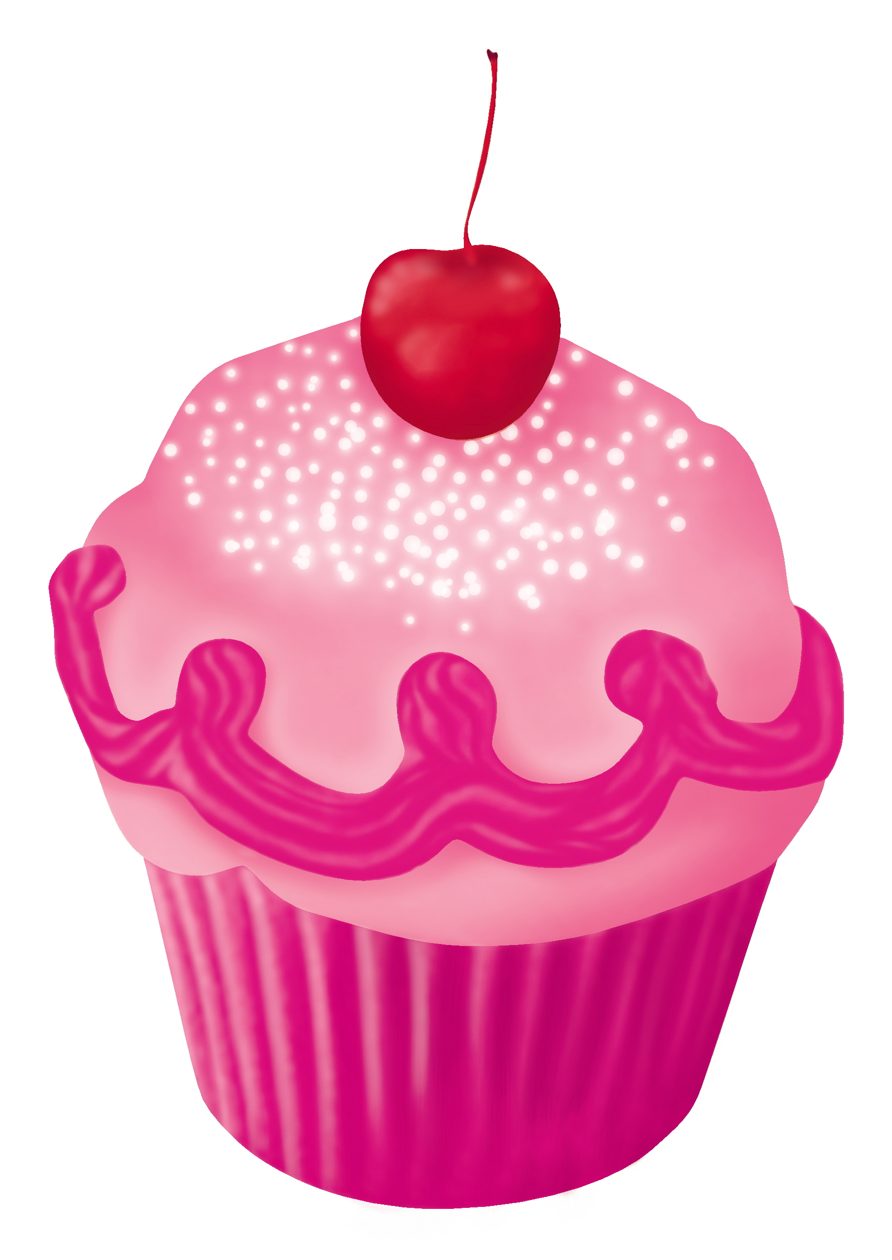 Pinkalicious Cupcake Colouring Pages page 2