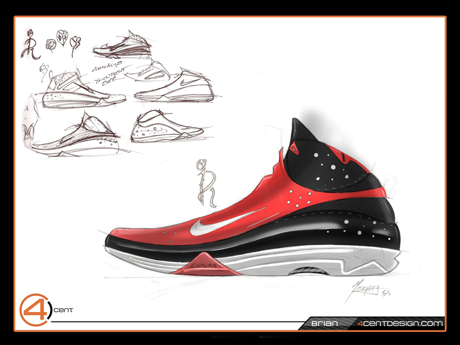 nike design shoes