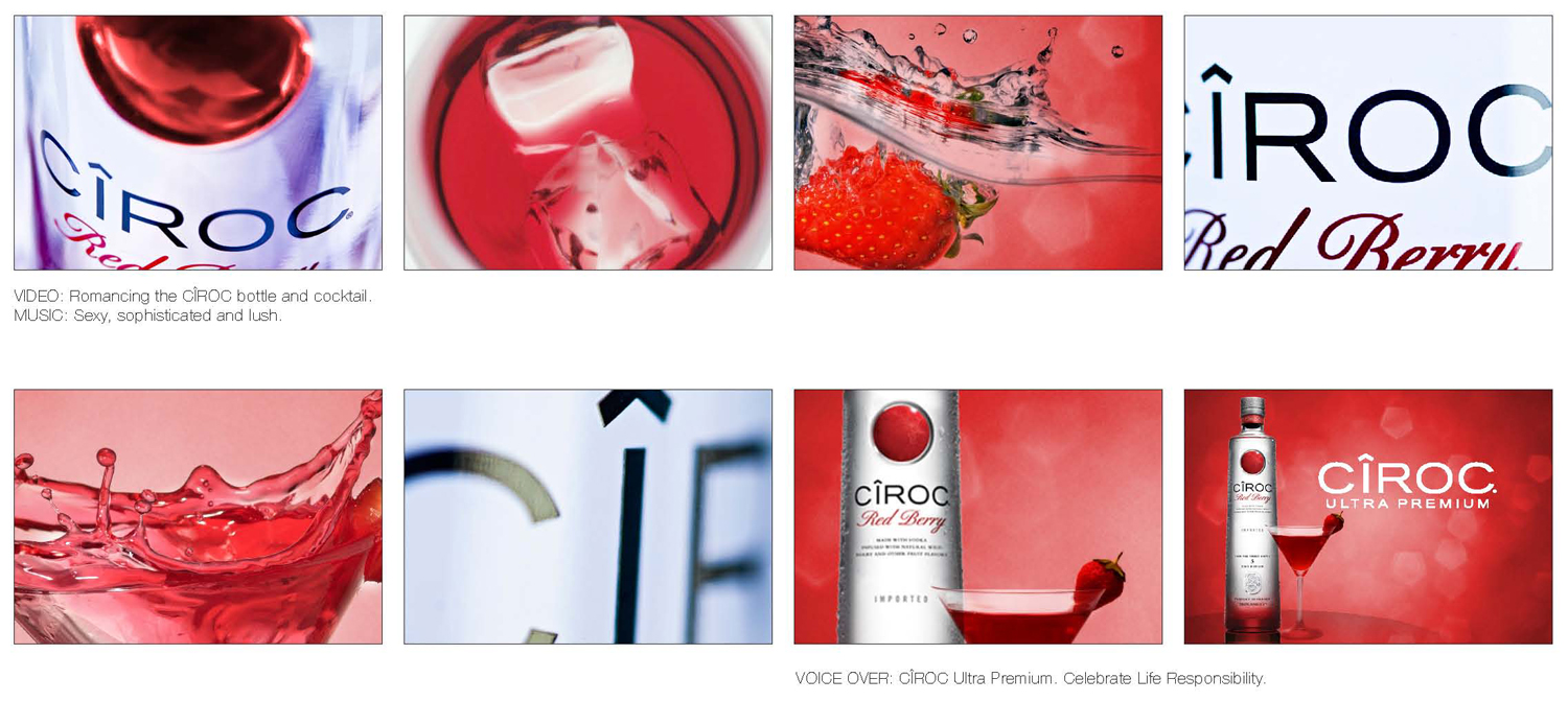 Ciroc red berry wallpaper
