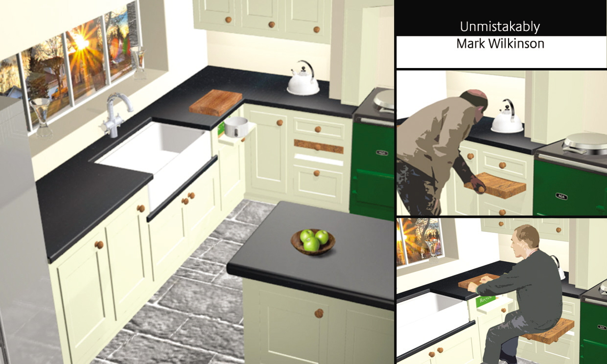 Baby boomers kitchen by nick abbott at for Kitchen design 7 x 7