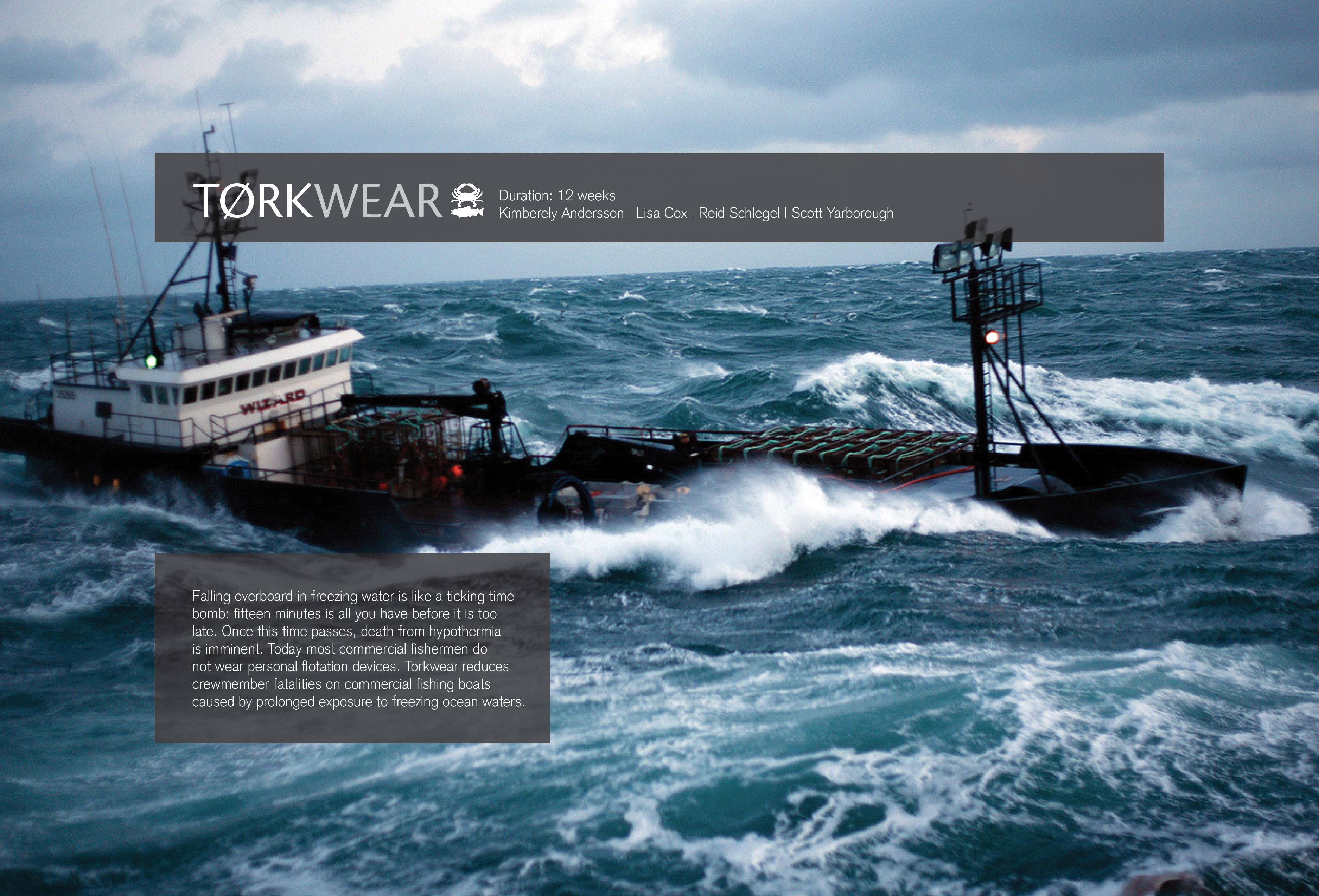 Torkwear by reid schlegel at for Commercial fishing gear