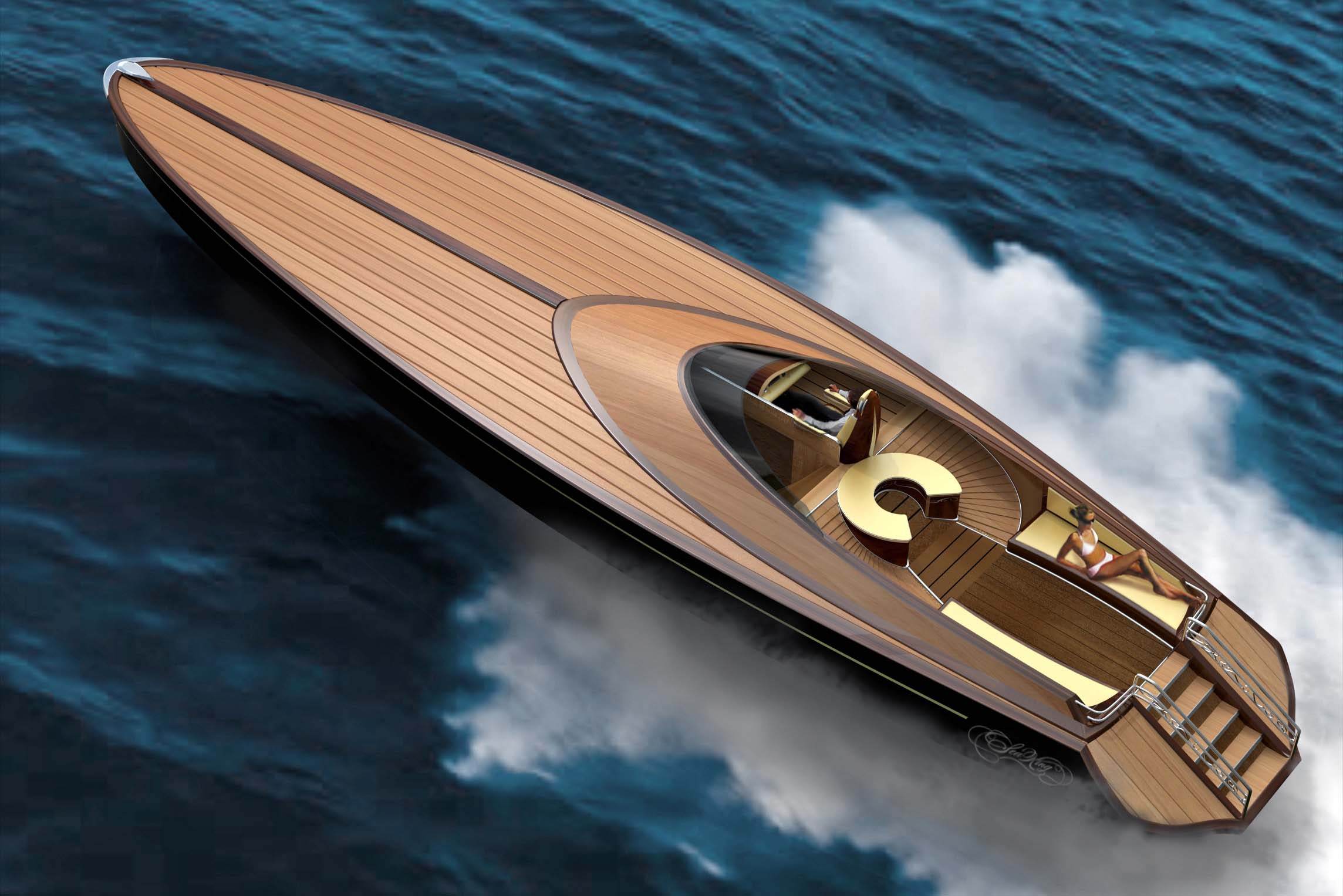 Sea King Bespoke Luxury Yacht By Adam Schacter At Coroflot Com