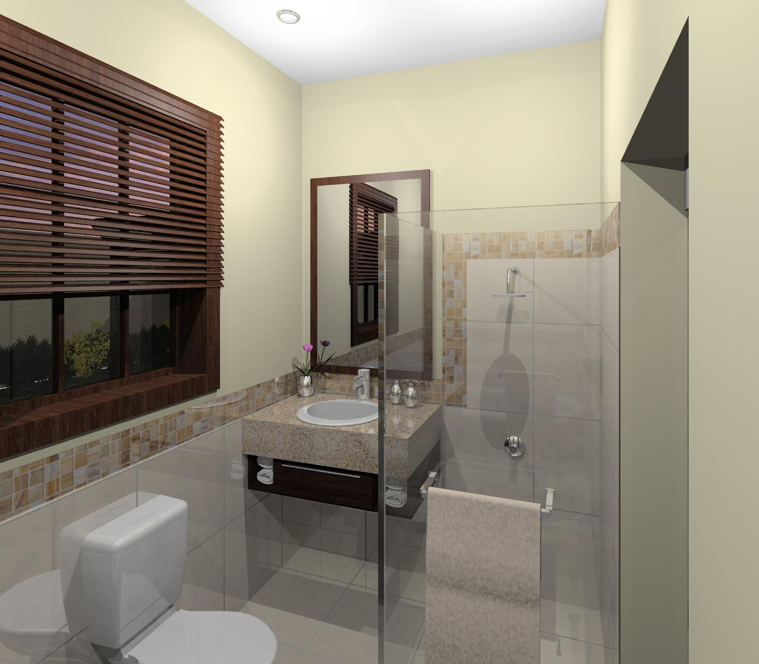 3d renderings by knoesen rene at for Bathroom design 12 x 8