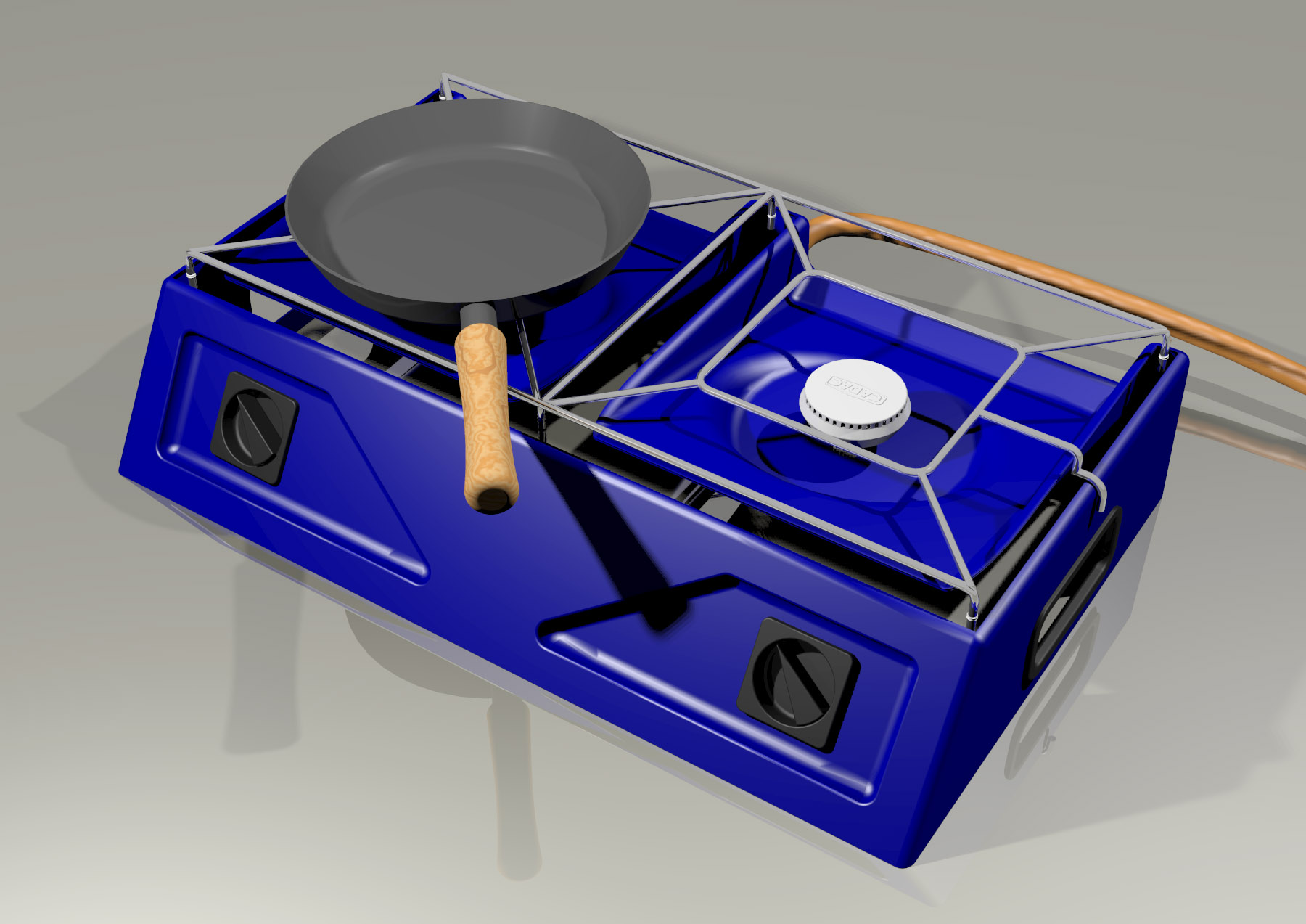 Cadac Gas Stove Design by Jason Hoffman at Coroflot.com