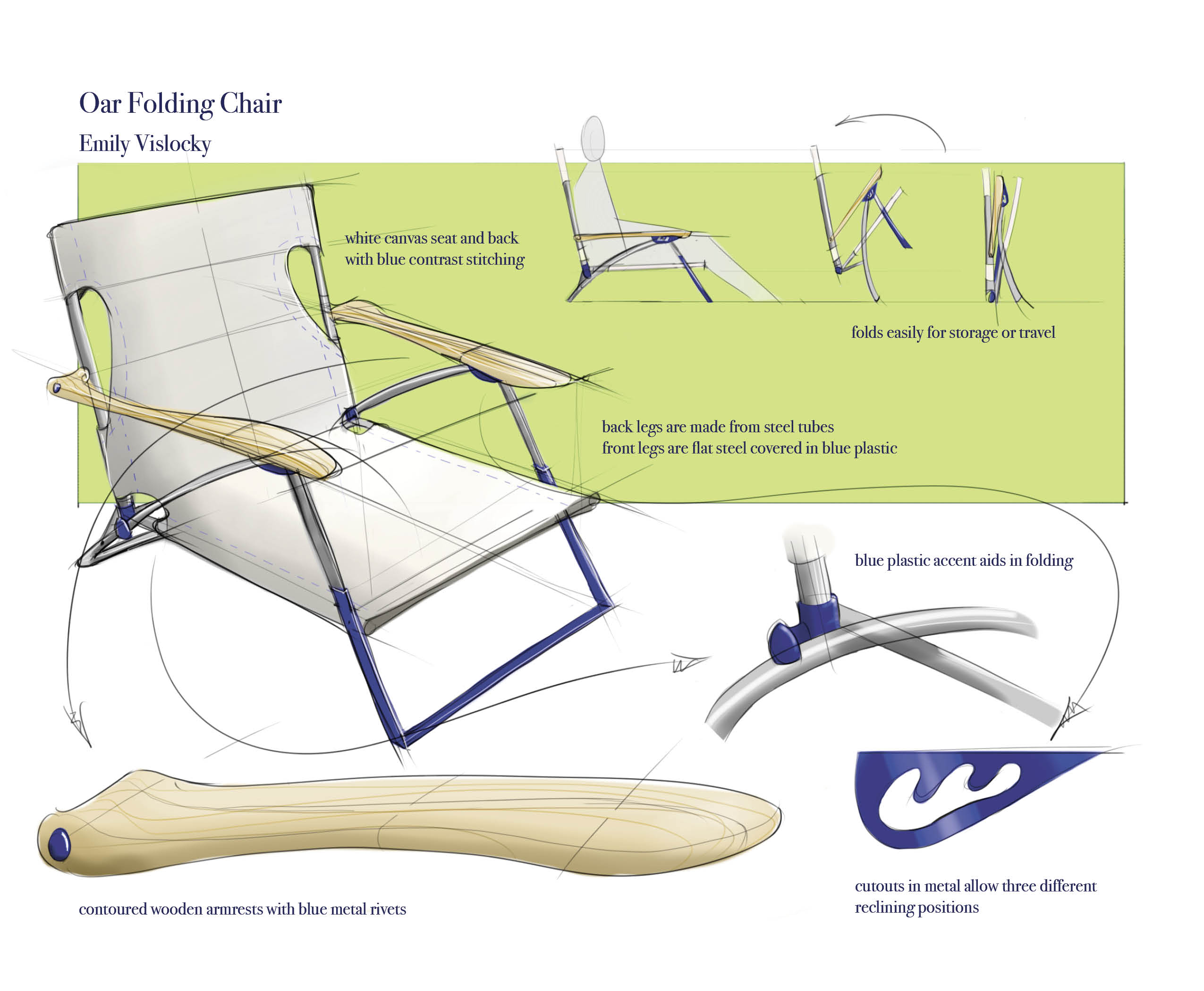 Folding Chairs by Emily Vislocky at Coroflot