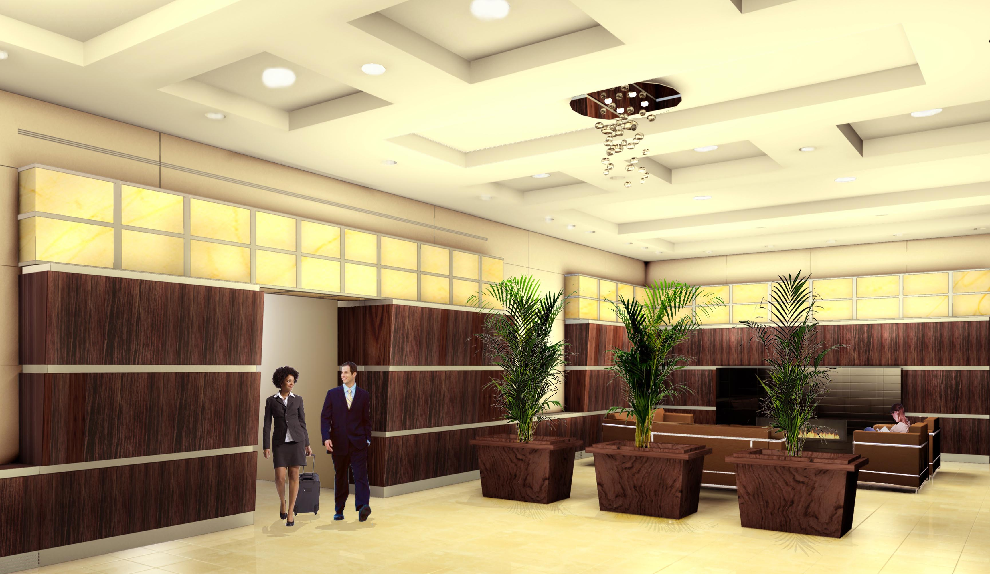 Indigo 141   East Orange, NJ   Luxury Apartment Building Lobby Rennovation Part 74