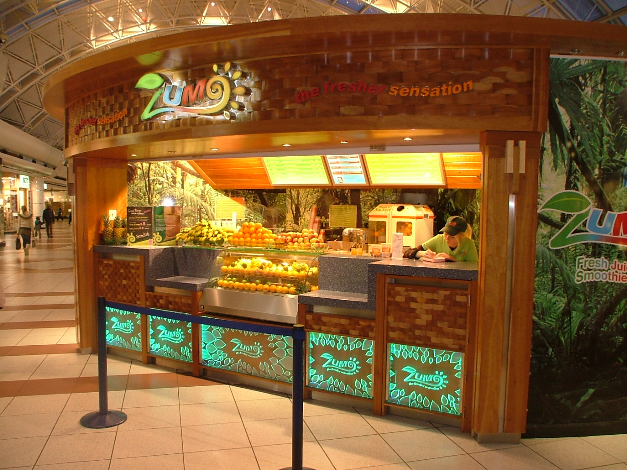 Zumo Juice And Smoothie Bars By Shay Fitzgerald At