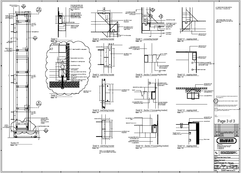 Furniture Construction Drawing Construction Drawings of