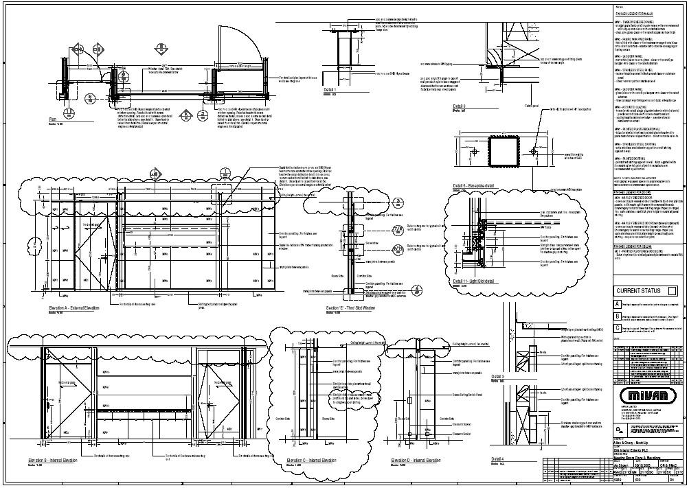 Mivan ltd by richy mc cusker at for Construction drawings and details for interiors
