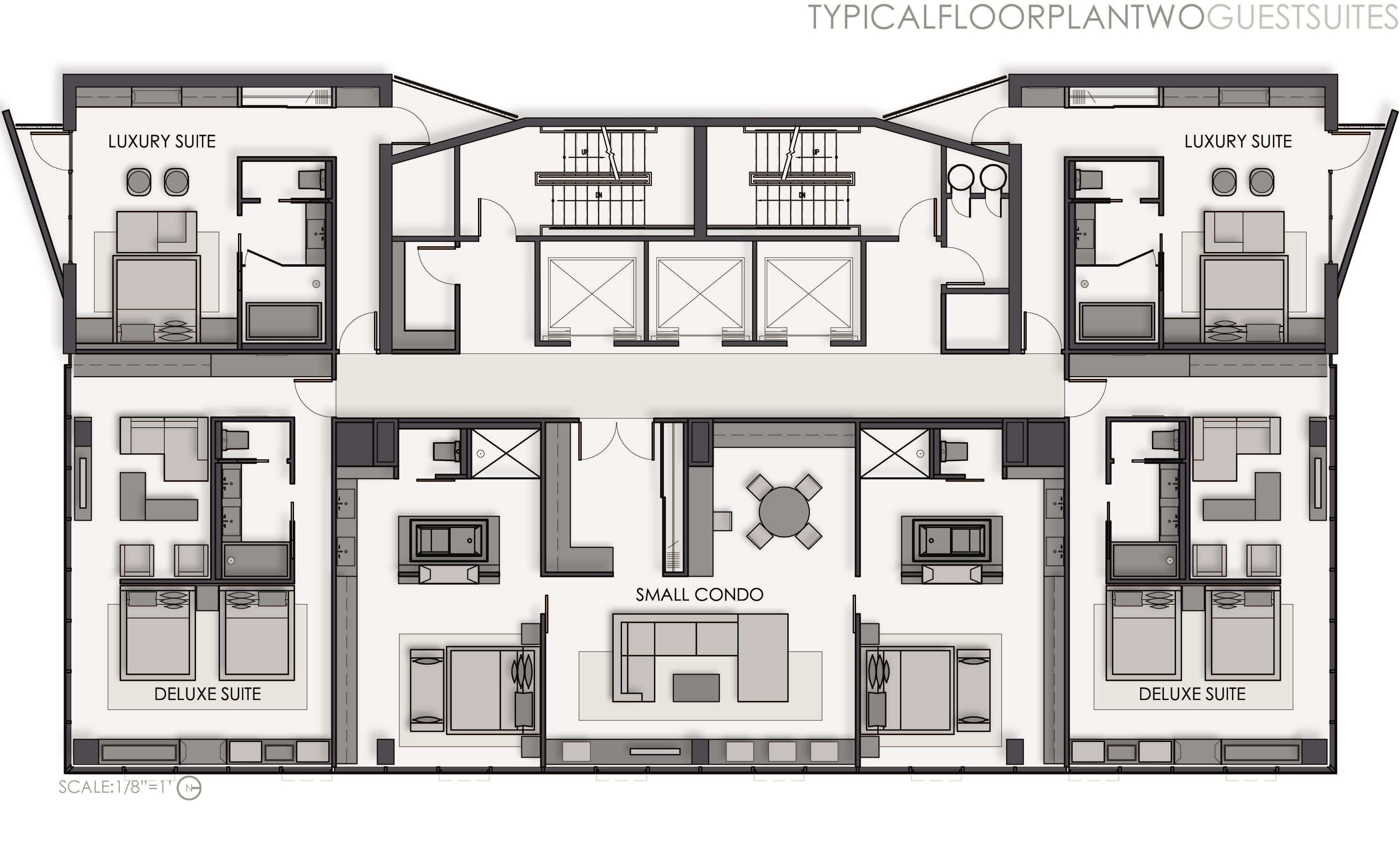 Hotel Floor Plan Design: A Boutique Hotel By Shelley Quinn At Coroflot.com