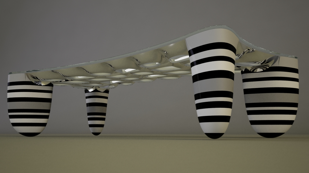 Fusion Coffee Table By Svilen Gamolov At