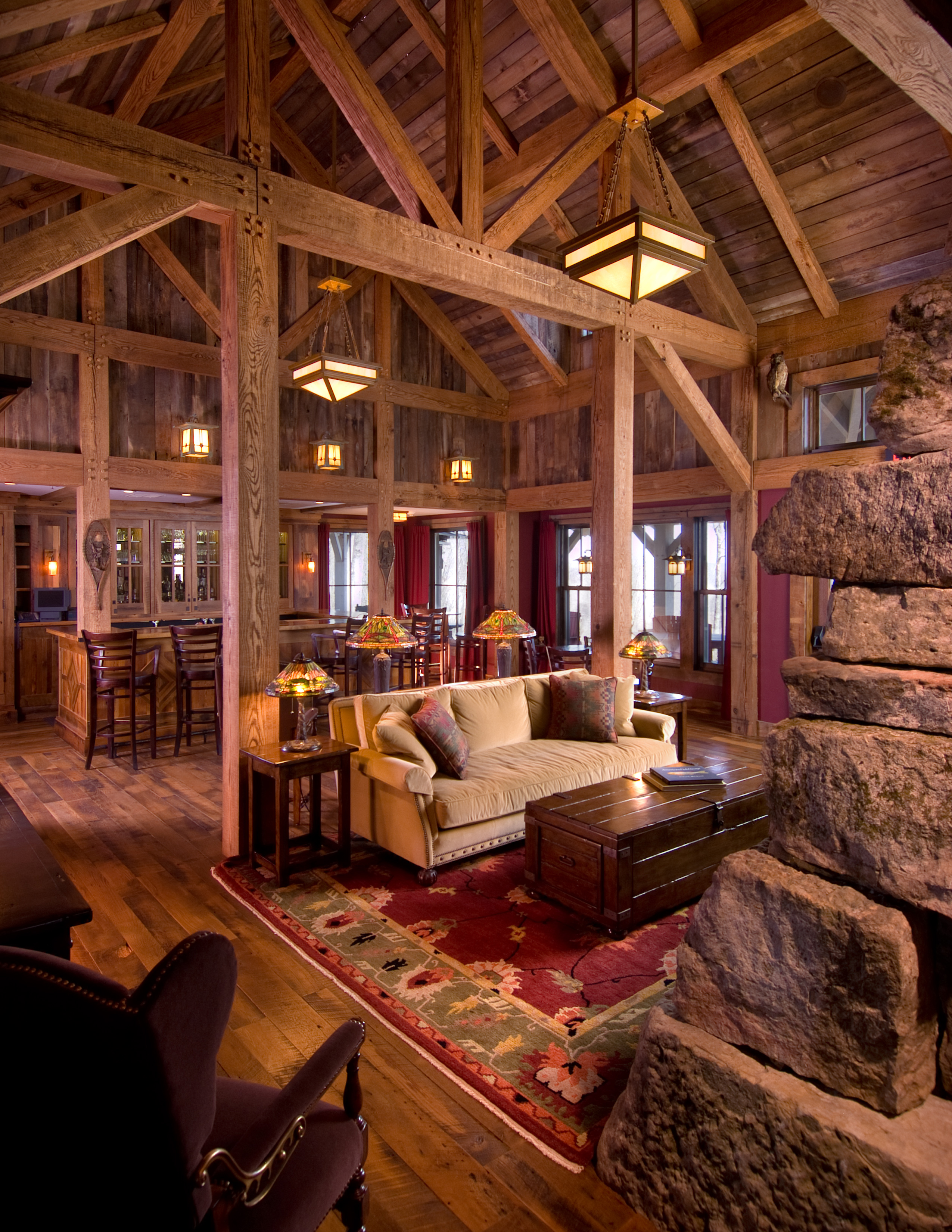 Greenbrier mountain lodge by boris reyt at for Alpine lodge