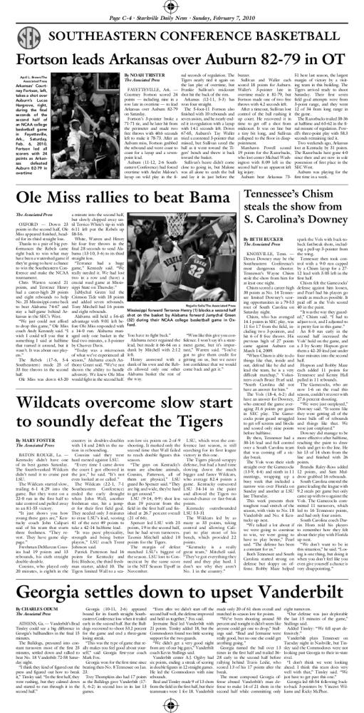 Starkville Daily News newspaper spread 2. Download PDF File MeLikey