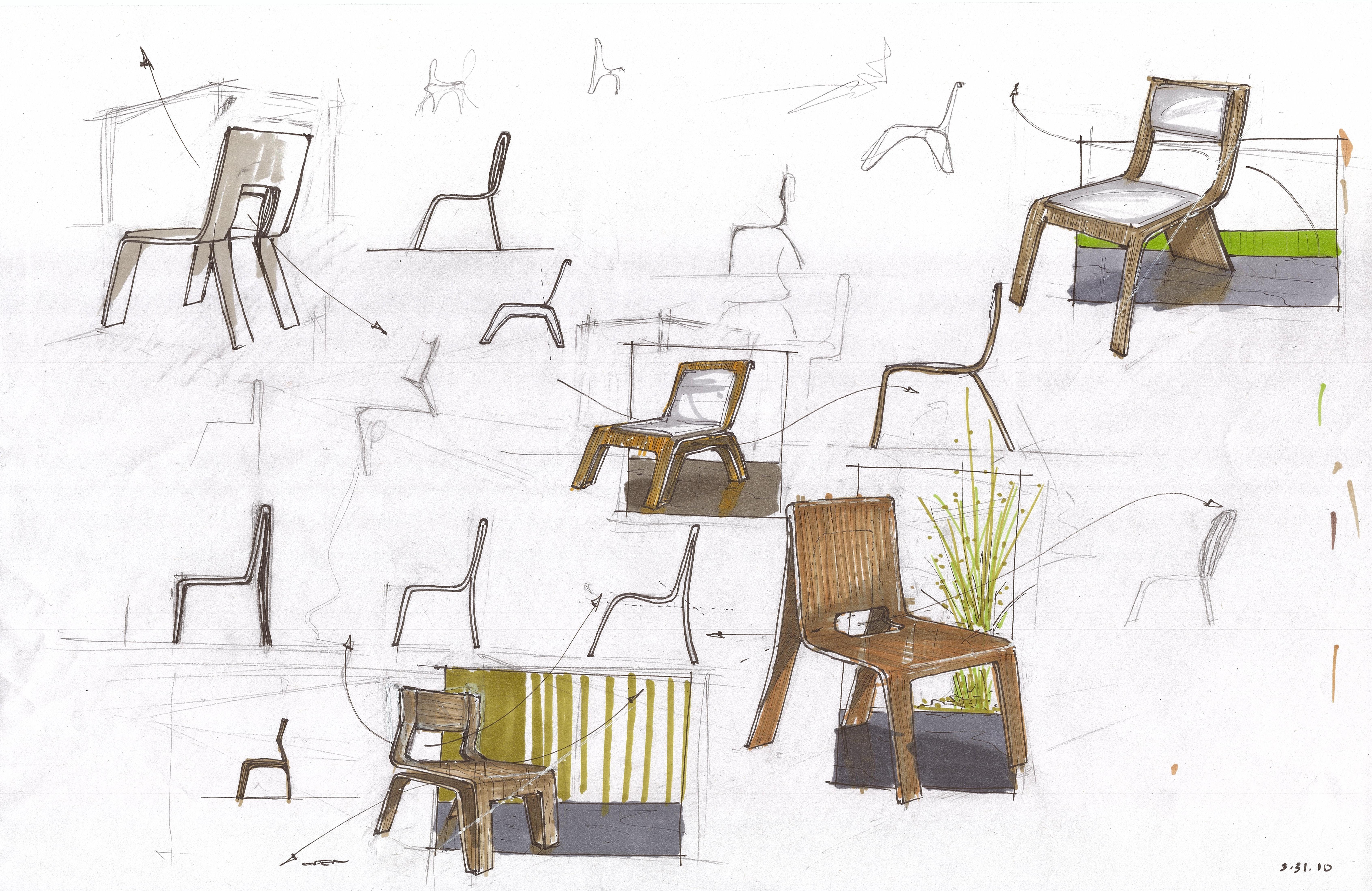 Furniture Design Sketch : furniture design by Juan Moreira at Coroflot.com