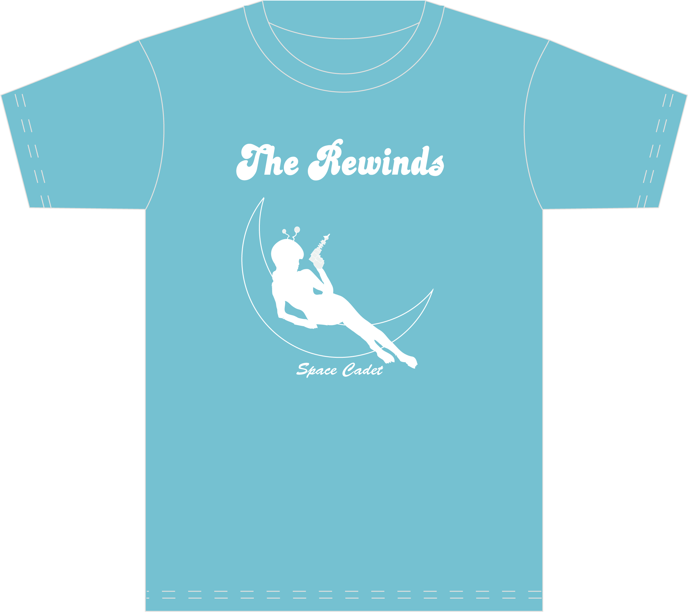 T shirt design huntsville al - Rewinds Space Cadet T Shirt Design Not Much To Say On This One Pretty Straightforward Job