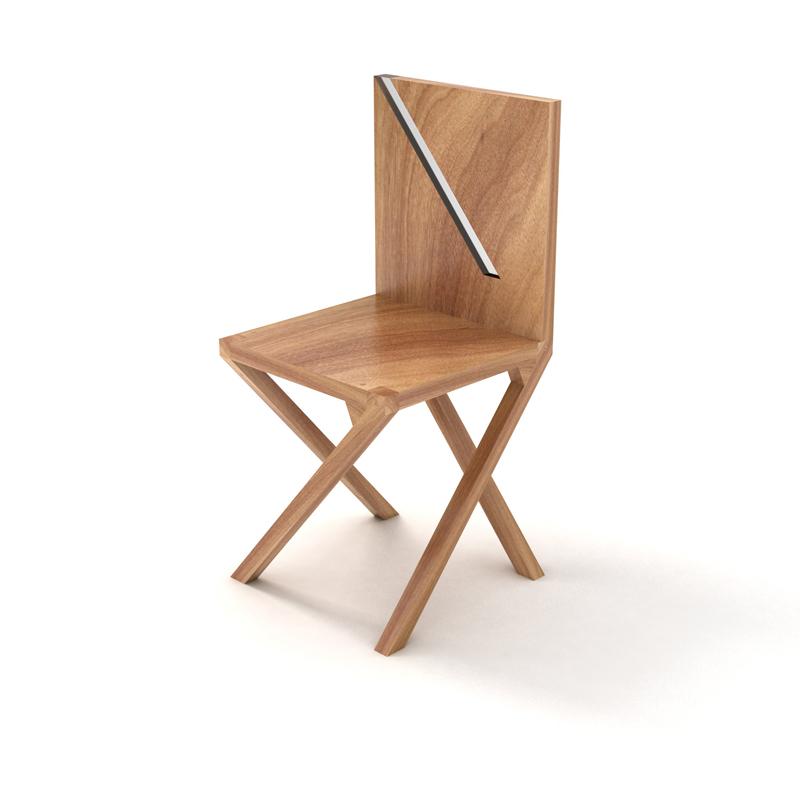 walking chair by Luis Ribeiro at Coroflot
