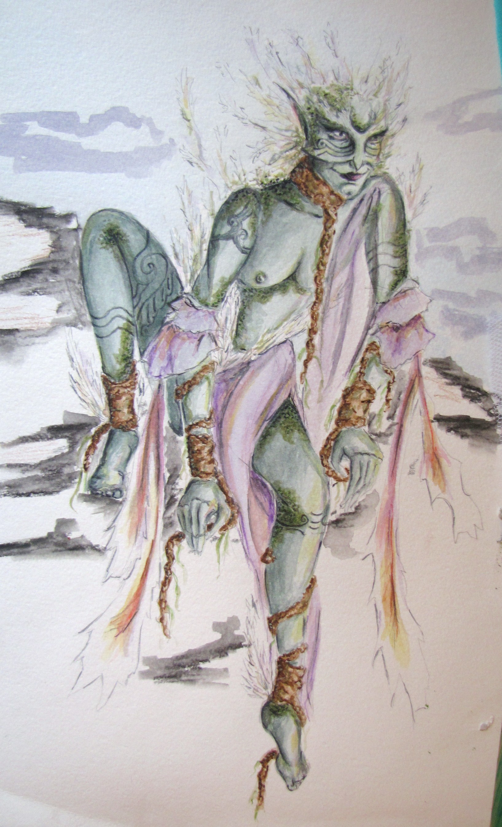 The Tempest by Kristina Fenske at Coroflot.com