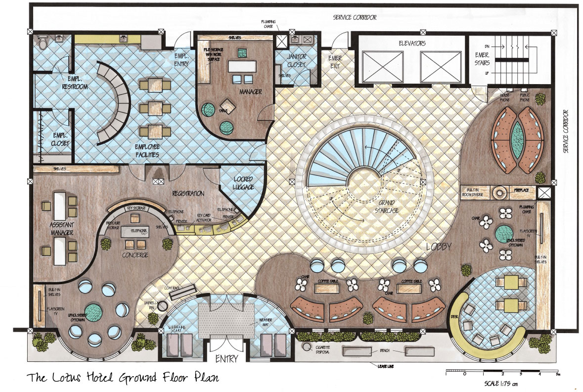 3d Floor Plan Designer Designs Drawings By Allison Carroll At Coroflot Com