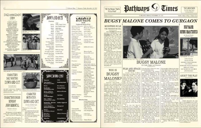 Bugsy Malone at Pathways World School. Download PDF File MeLikey