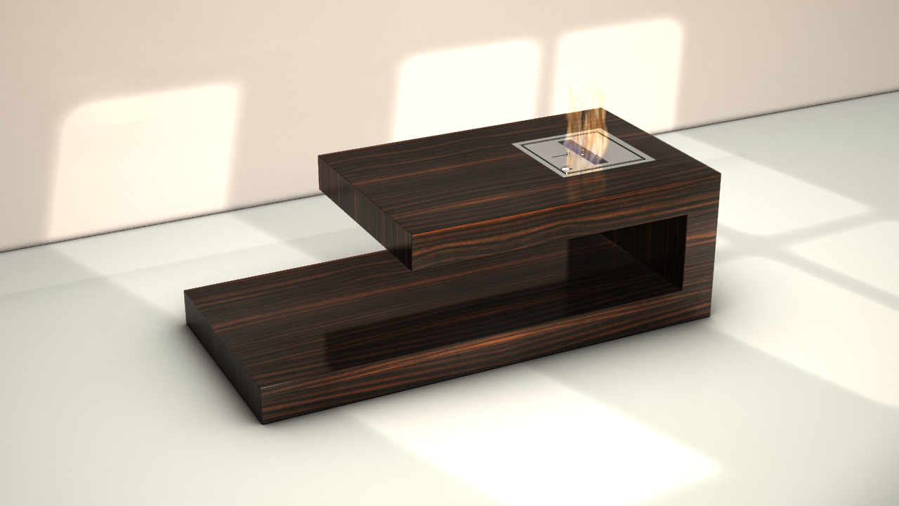 Fire Coffee Table By Axel Schaefer At
