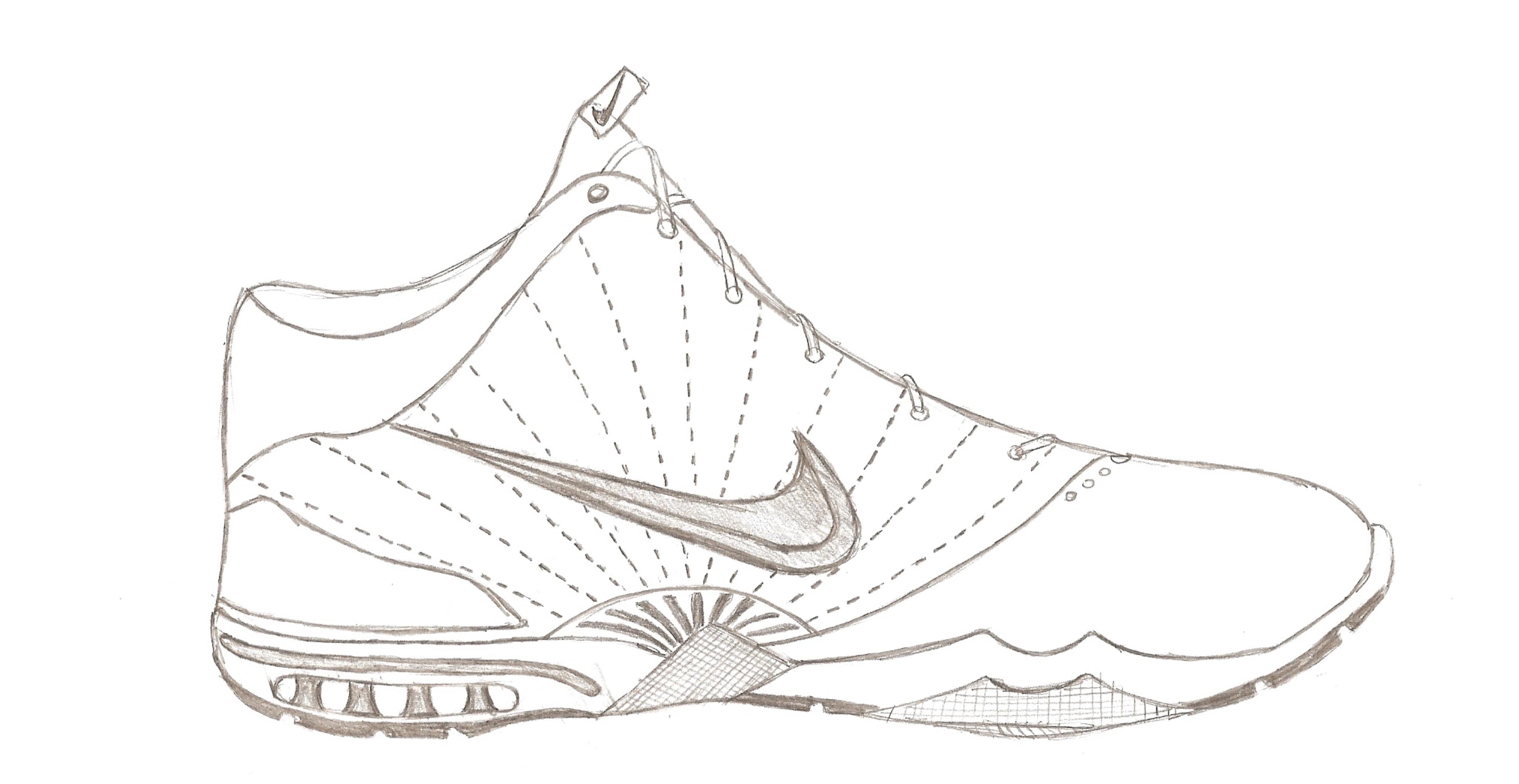 Jordan 8 Shoe Coloring Pages