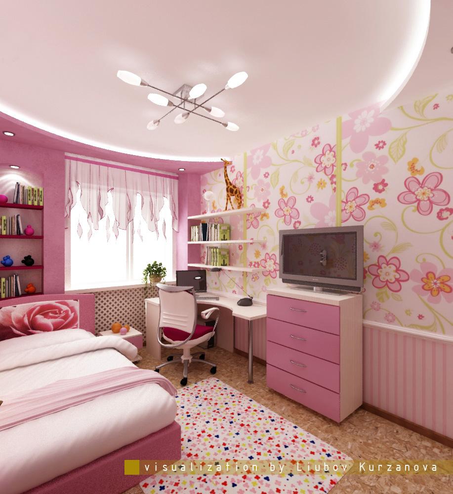 Дизайн детской комнаты фото 9