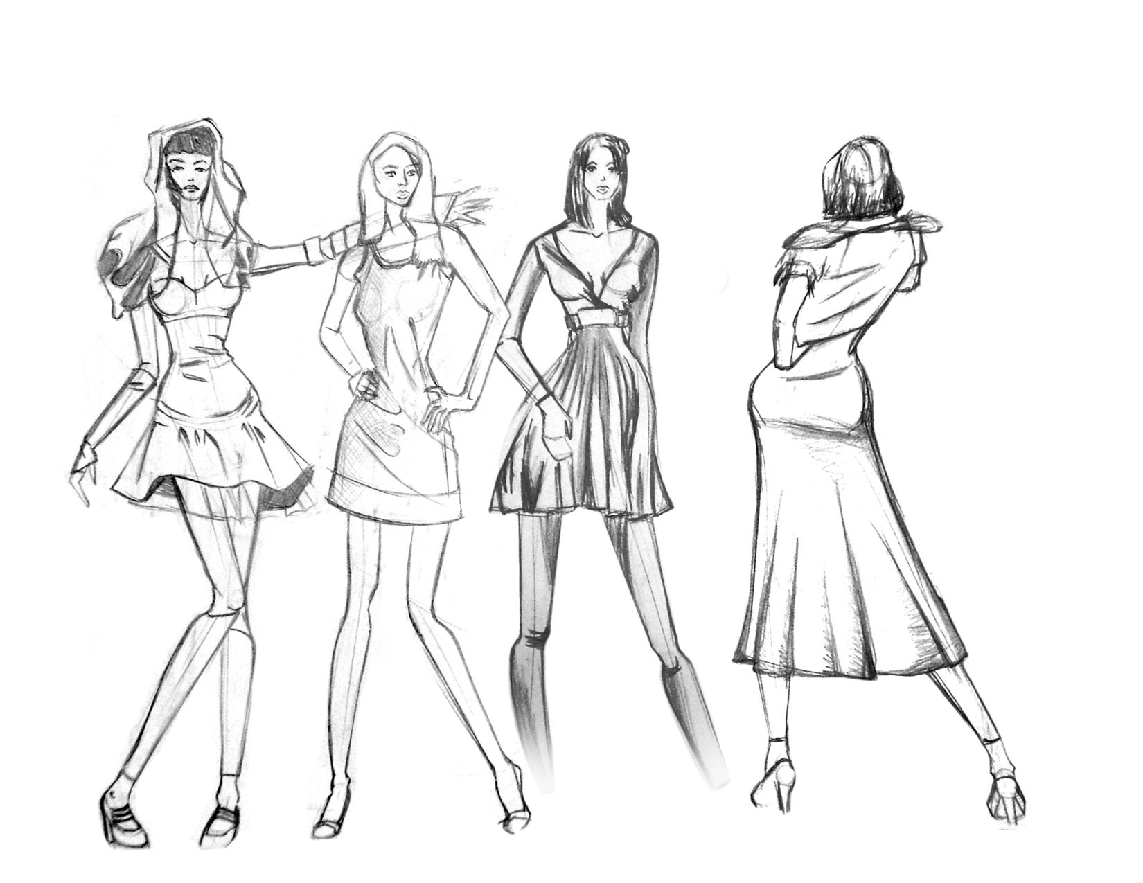 Figure Drawing for Fashion Design - new edition Pepin Press Design 63