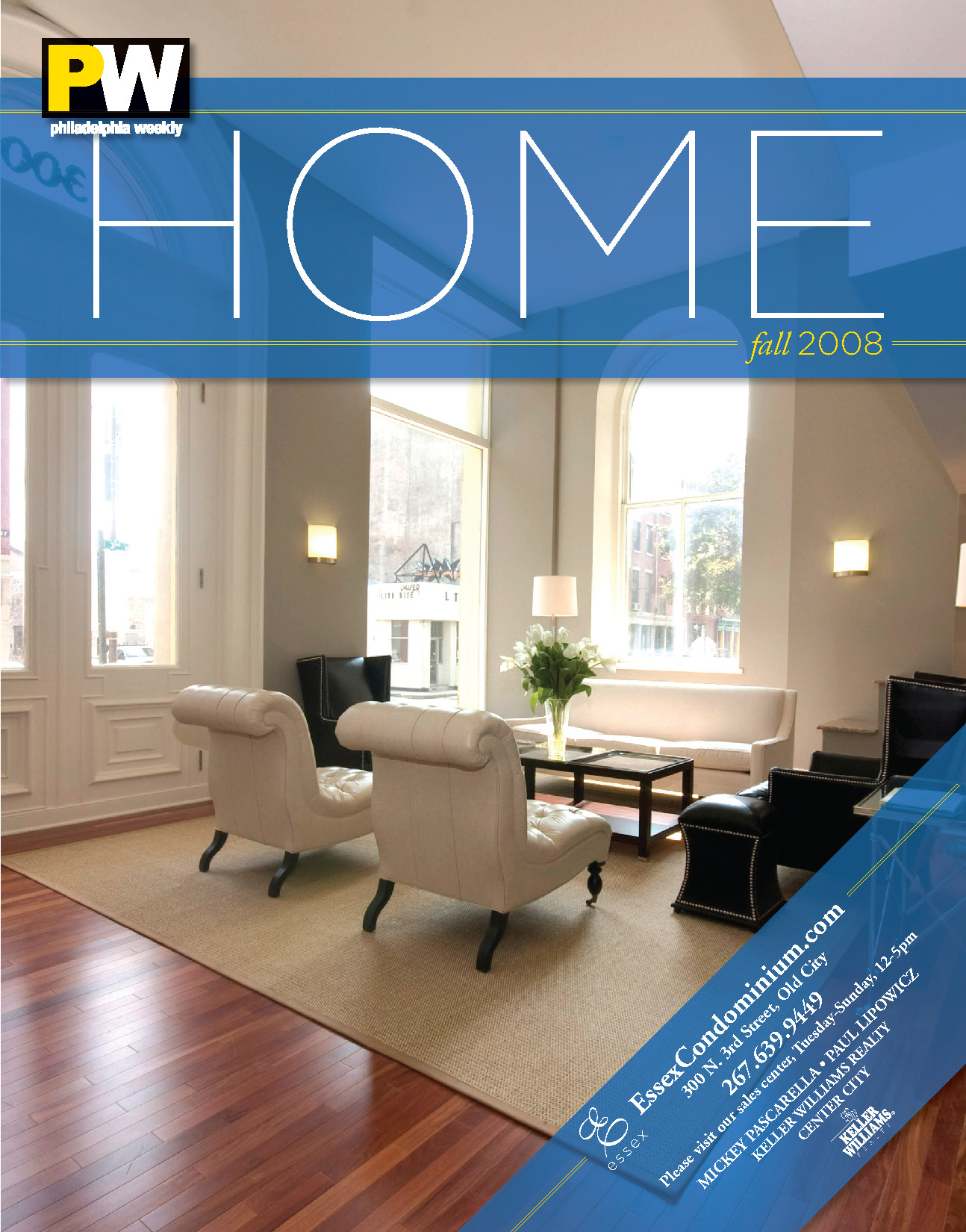vertical real estate magazine cover design trend home