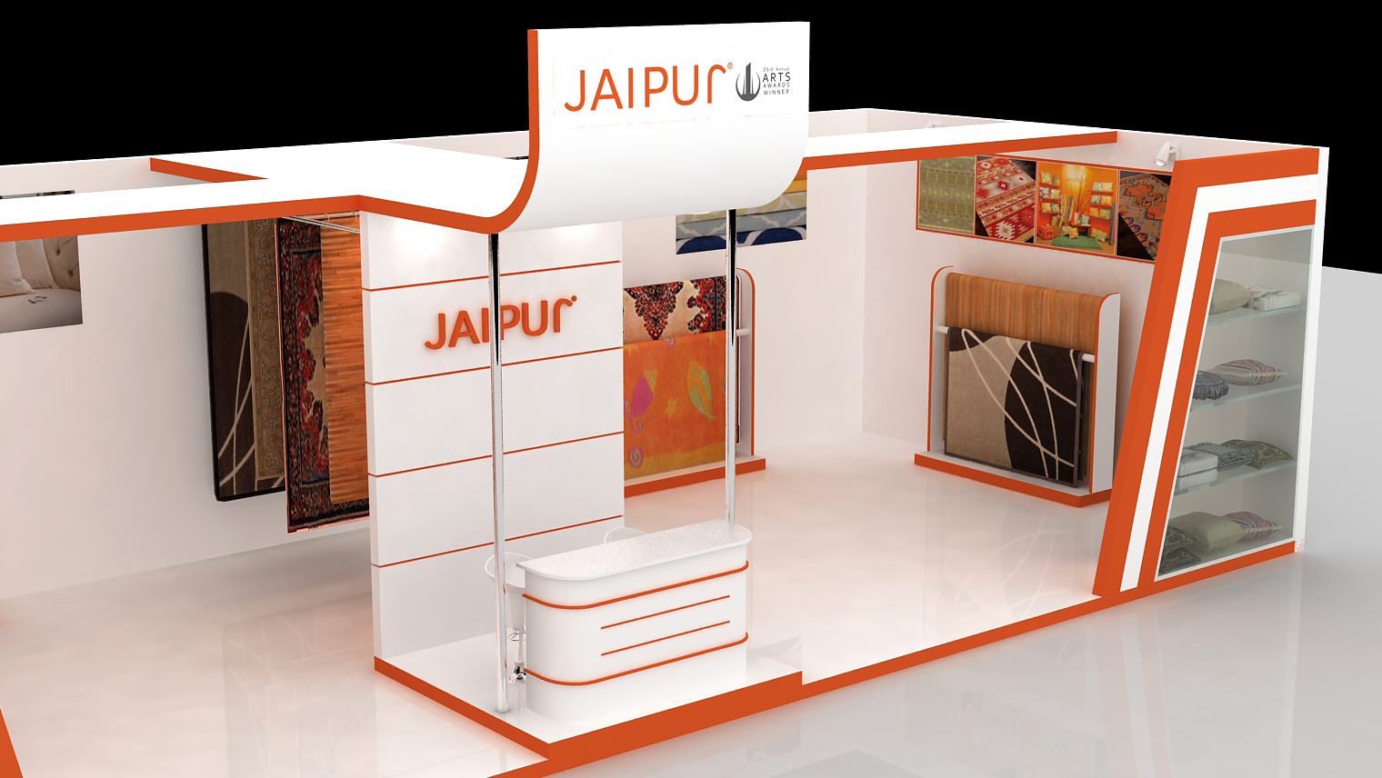 Exhibition Stall Dimensions : Exhibition stall design by asad ali at coroflot