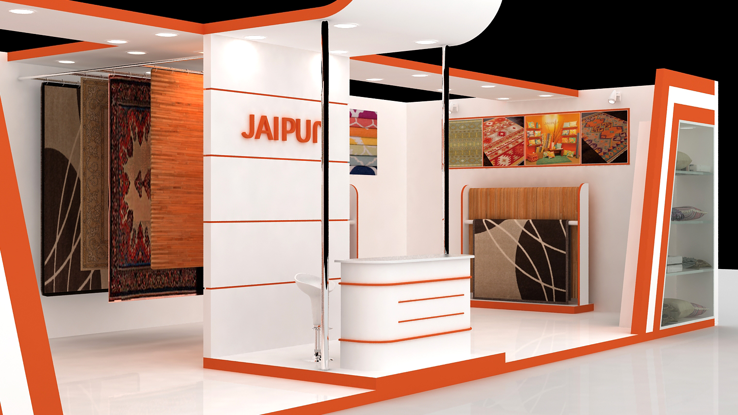 Exhibition Stall Designer Job : Exhibition stall design by asad ali at coroflot