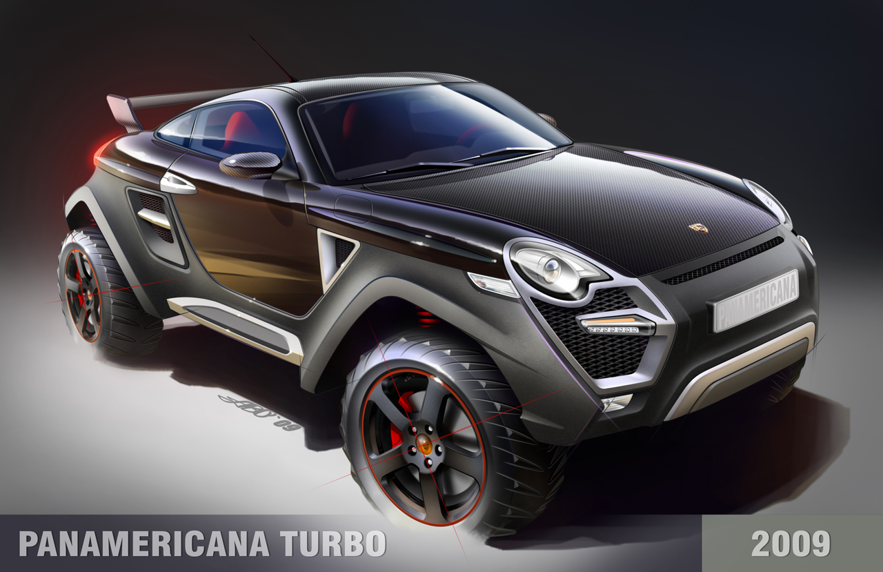 Porsche Panamericana Turbo