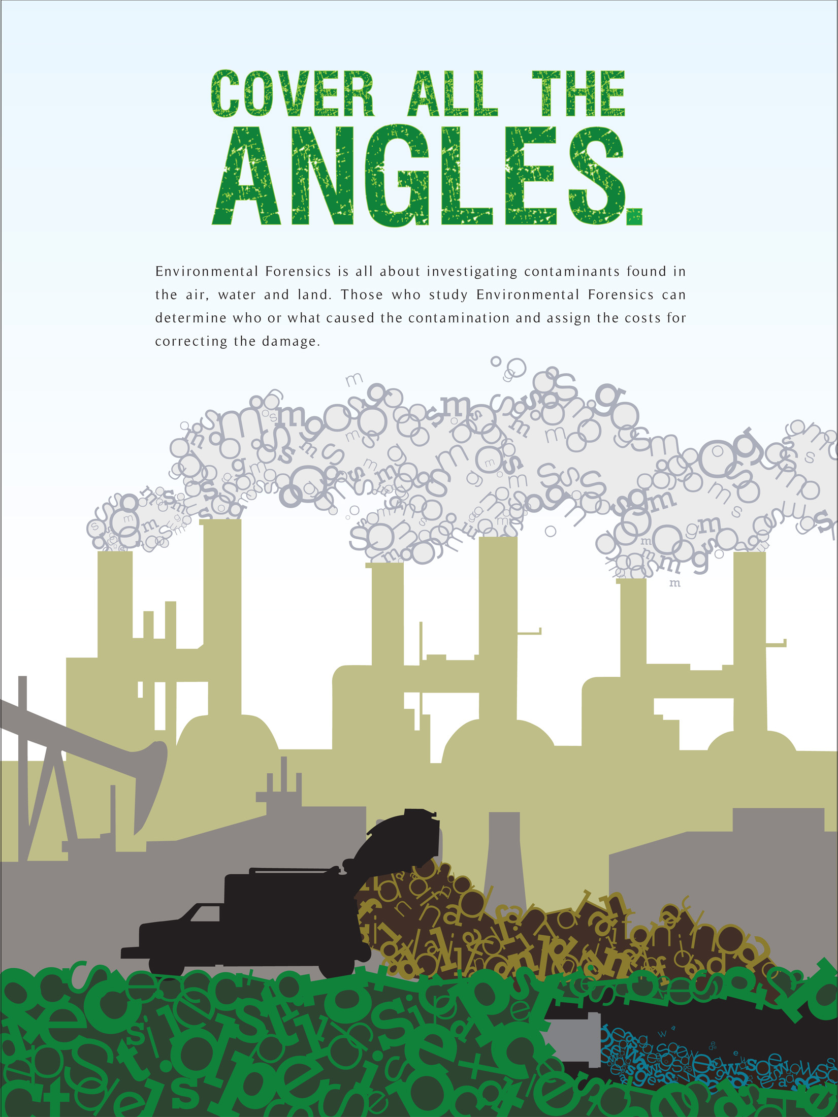 Poster design environmental issues - Poster 1 Defines Environmental Forensics And The Issues The Subject Deals With