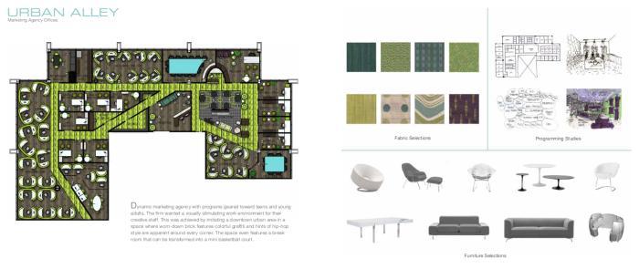 Undergraduate portfolio by jenna wilburn at for Interior design portfolio pdf