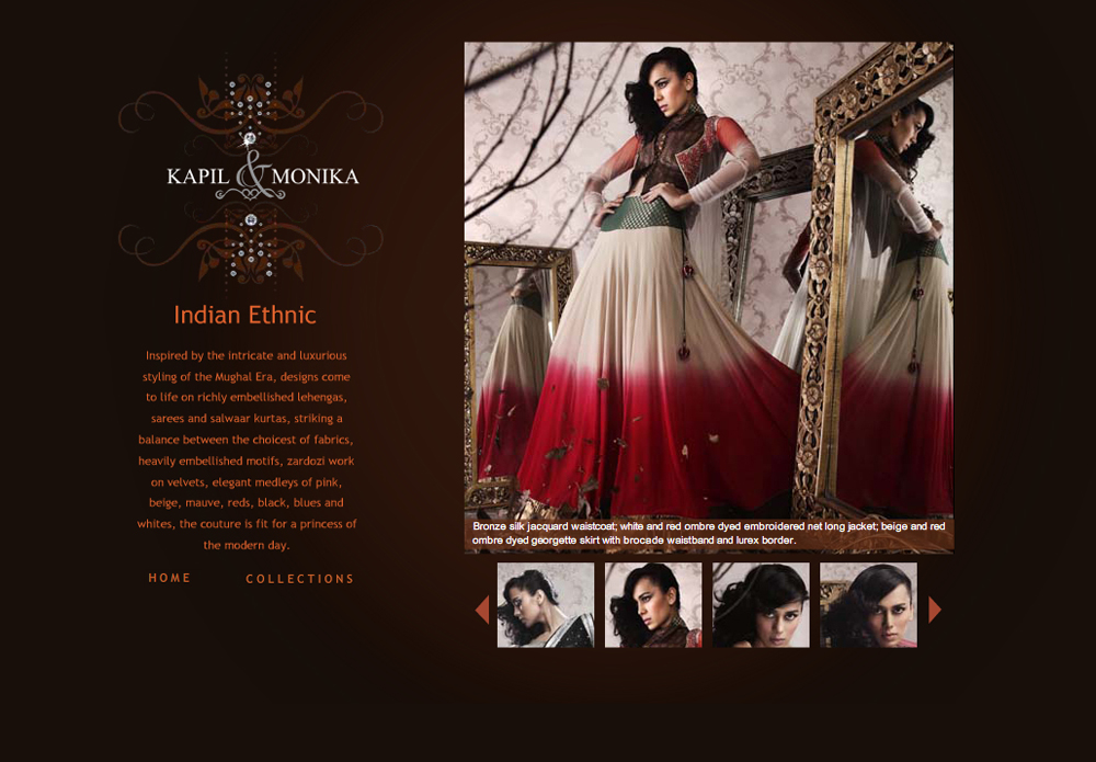 fashion designers website - Khafre