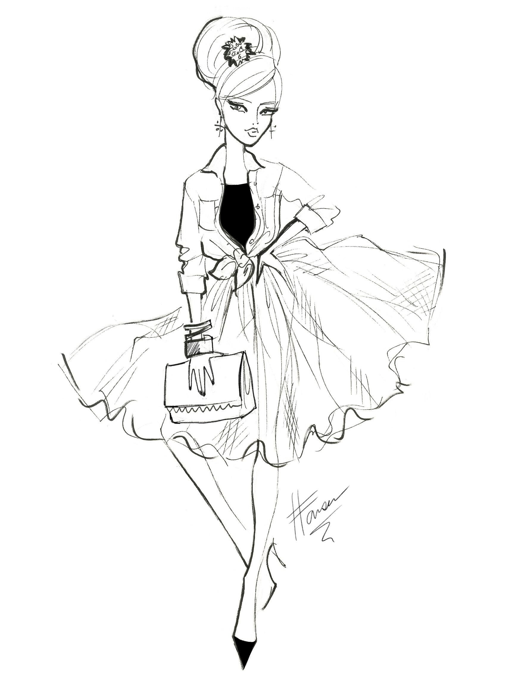Designsdevelopment further D61894d8a4 as well Fashion Flat Drawings as well Wedding Wednesday On Thursday Dress likewise Sun Dress Sewing Pattern 783. on full skirt flat sketch