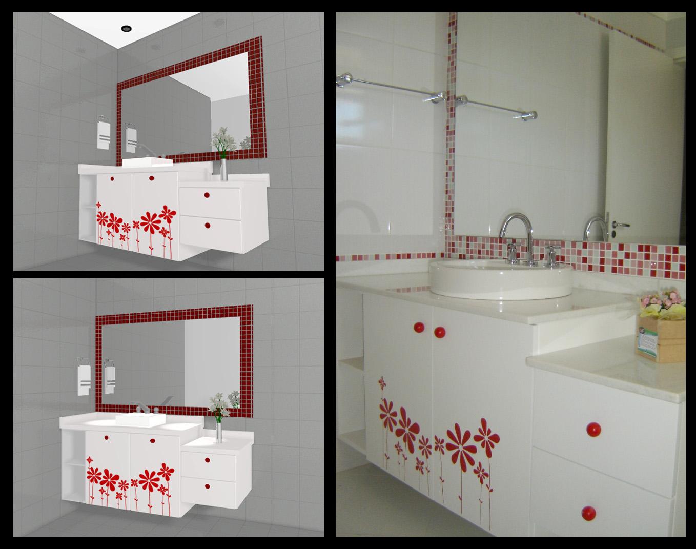 Banheiros by Mariana Leitão Pinheiro at Coroflot.com #A62526 1358x1071 Balcão Para Banheiro