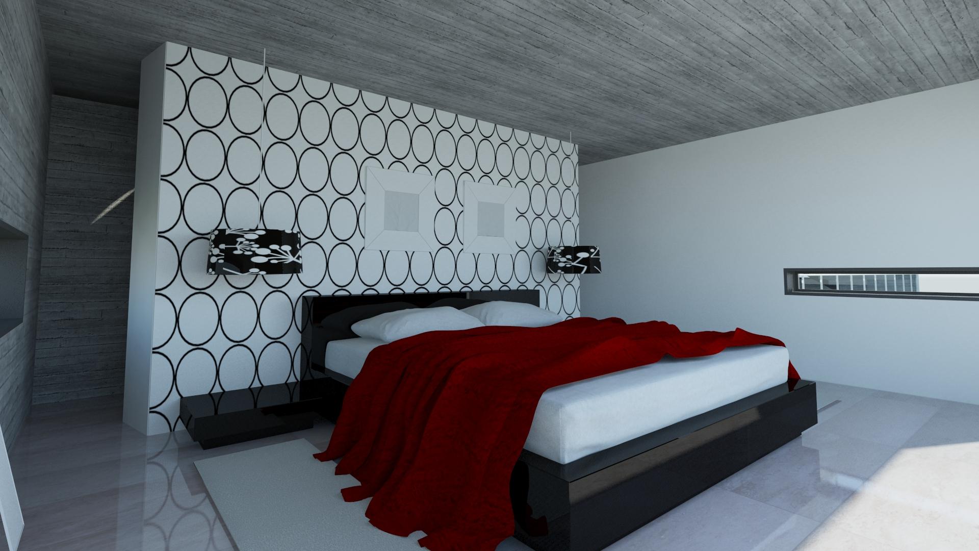 3dmax revit arquitectura by claudio vasquez at for Arquitectura interior