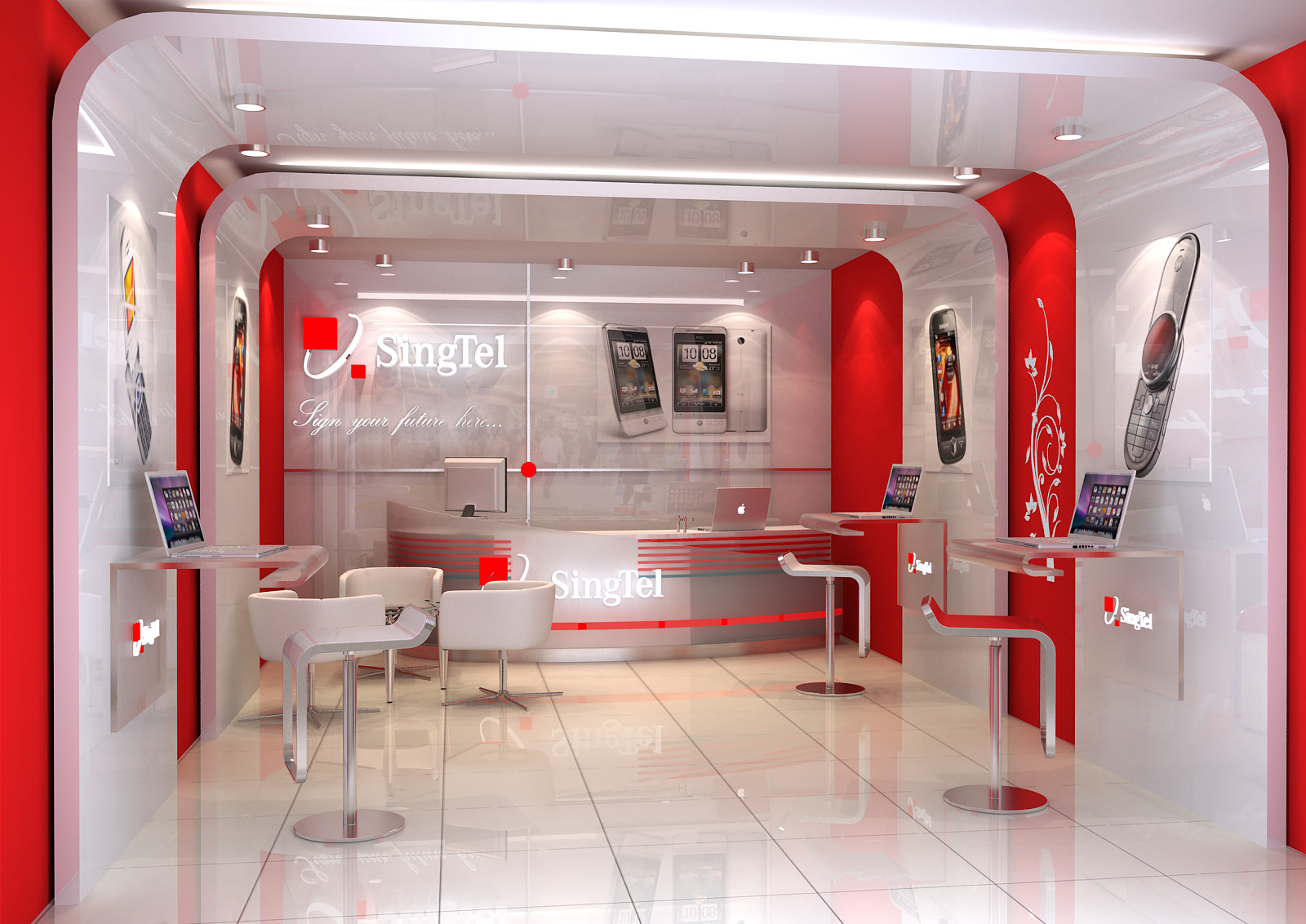 Mobile Shop Interior Design Instainteriors Us