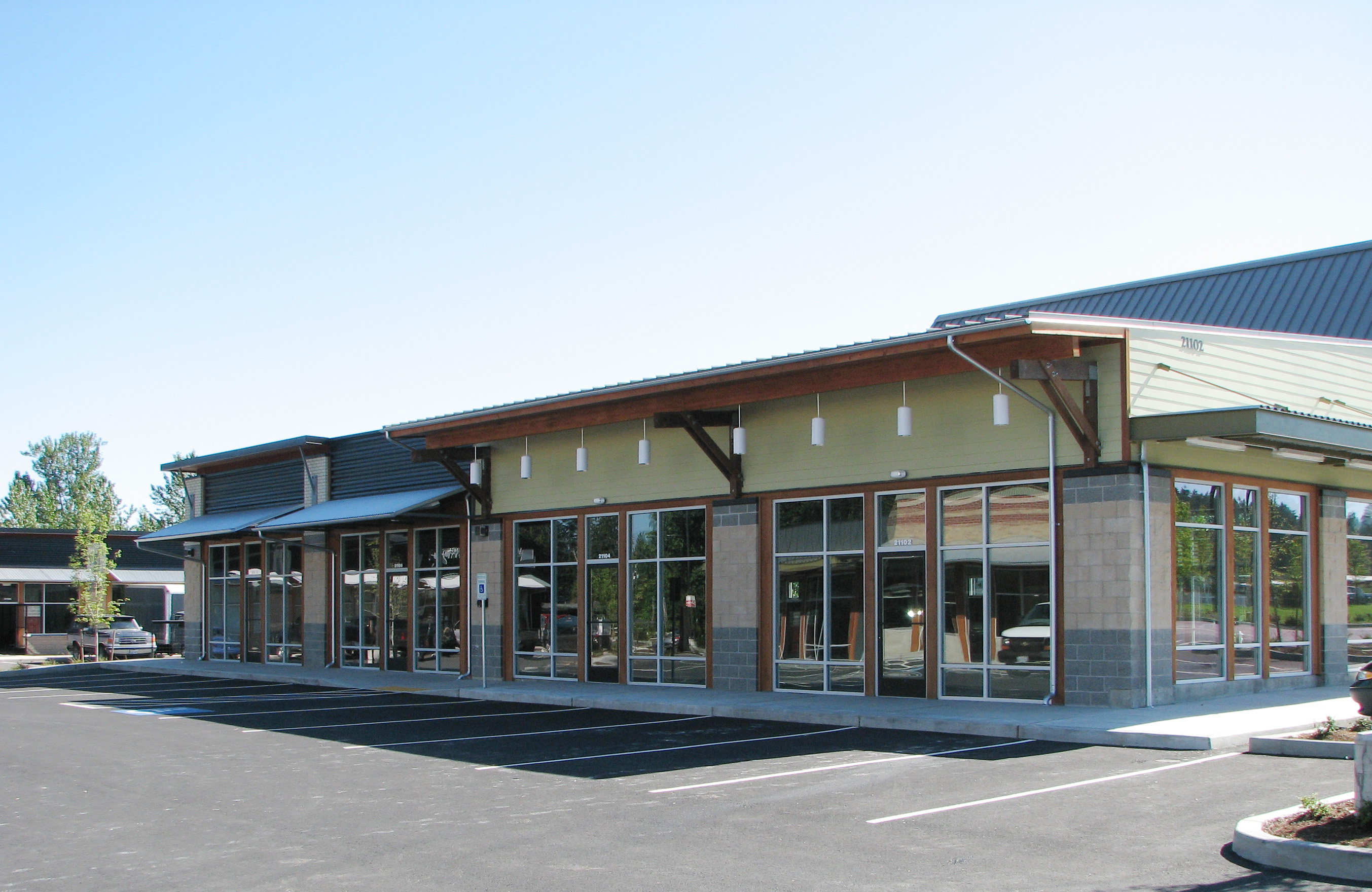 Retail buildings phase 2 by kyle christensen at for Retail building plans