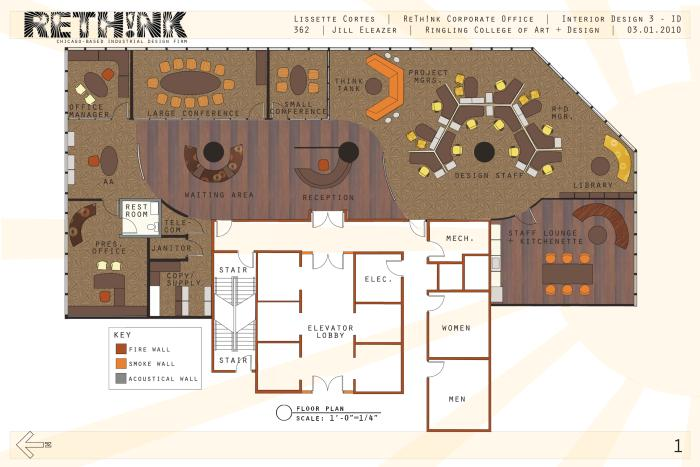 Rethink corporate office by lissette cortes at for Corporate office layout design
