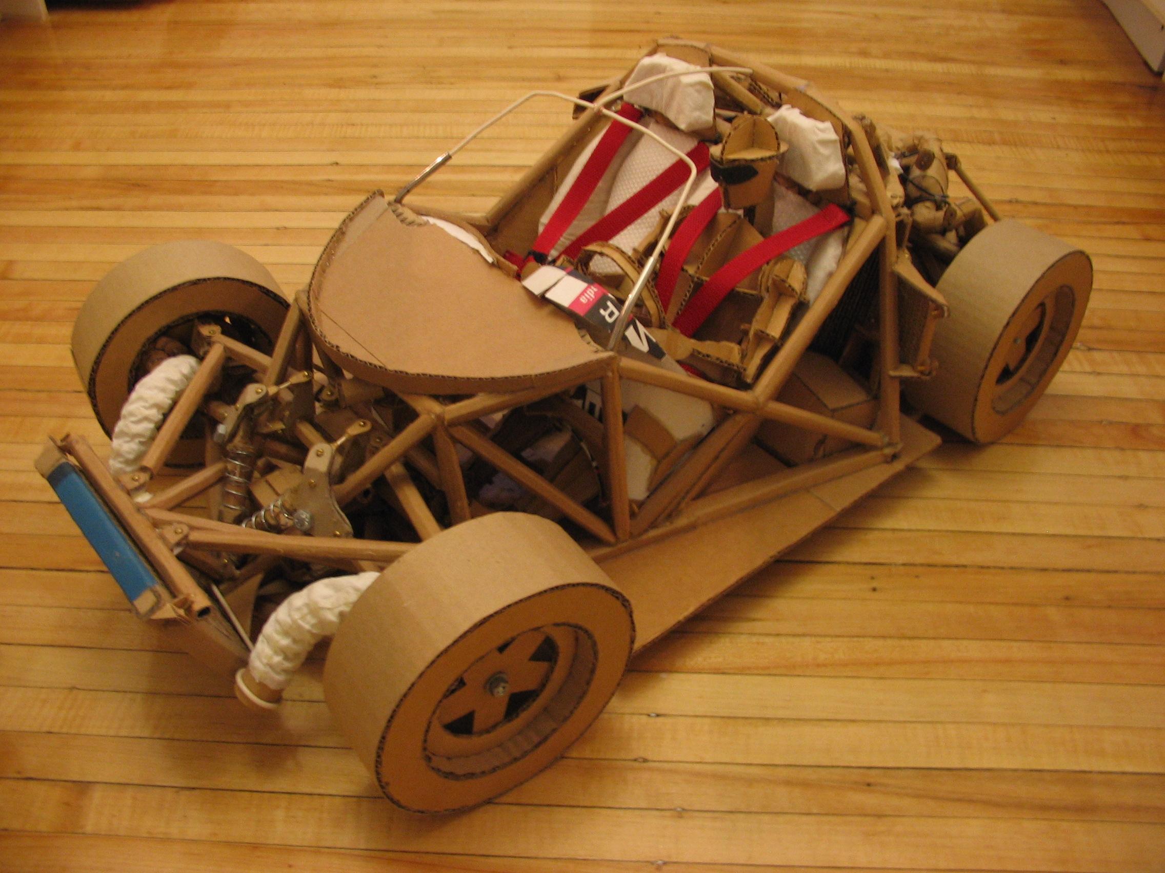 Image result for model cardboard cars