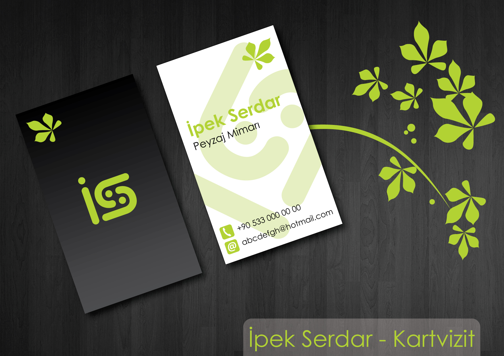 Business Cards by Plus One at Coroflot.com