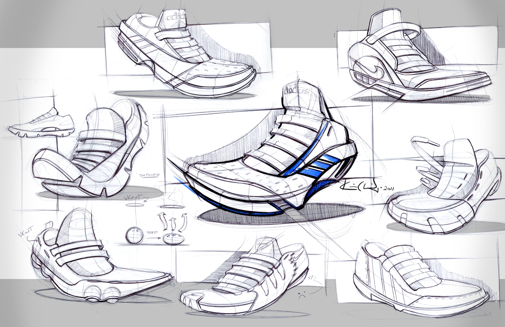 industrial design sketches shoes. shoe idnudtrial design drawing by kevin clarridge | art hands and feet pinterest product sketch, products sketches industrial shoes n