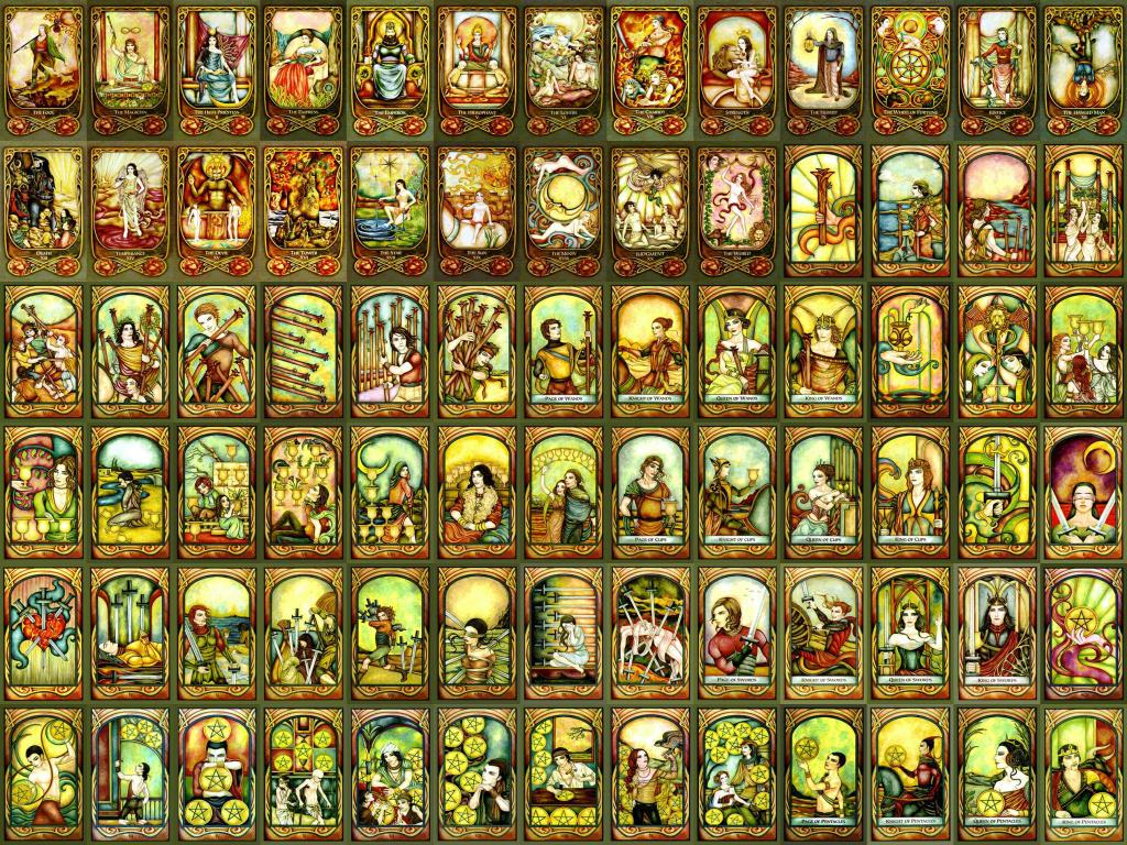 tarot deck wallpaper by tuhin kumar dutta at coroflotcom