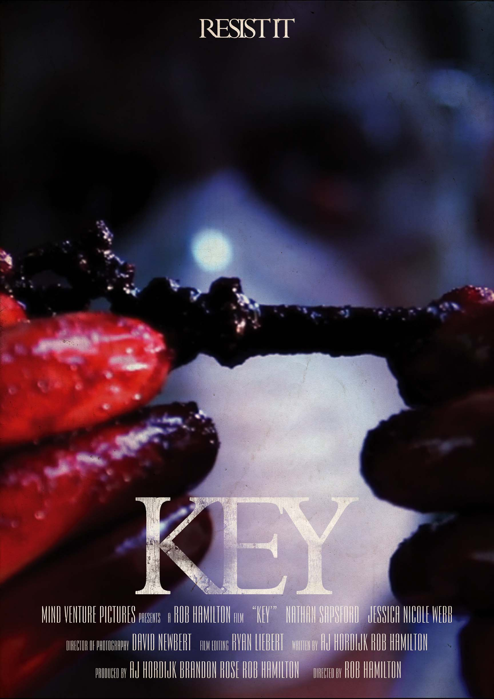 Poster design key - Key Poster Design For The Upcoming Feature Film Key From Mind Venture Pictures
